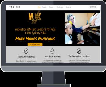 Maxx Music Lessons